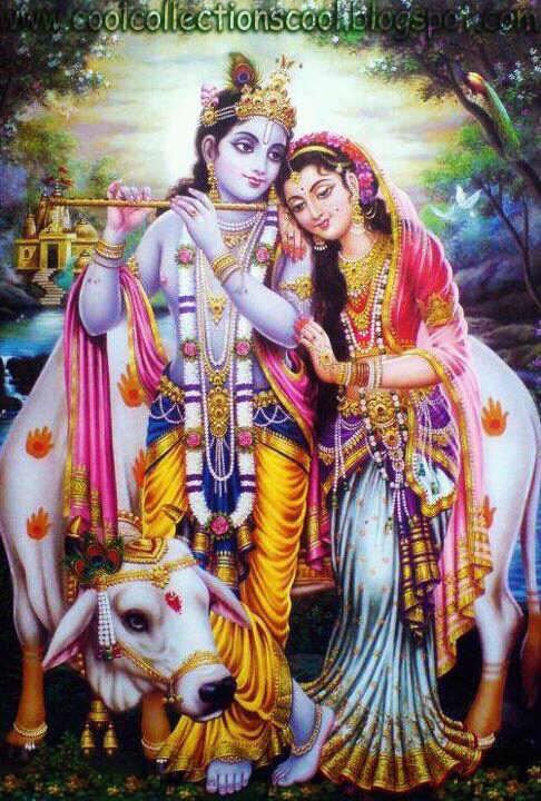 wallpapers name: Radha and Krishna's Romantic Love story