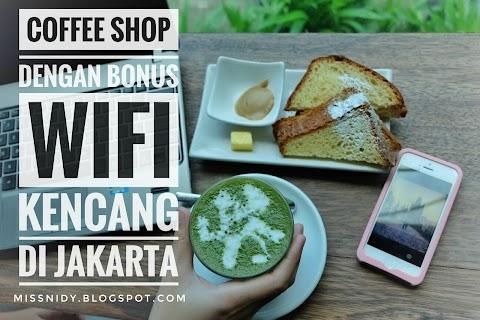 Coffee Shop dengan Bonus WiFi Kencang di Jakarta