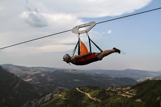 Zip line, italy, mountains of italy, adventure travel