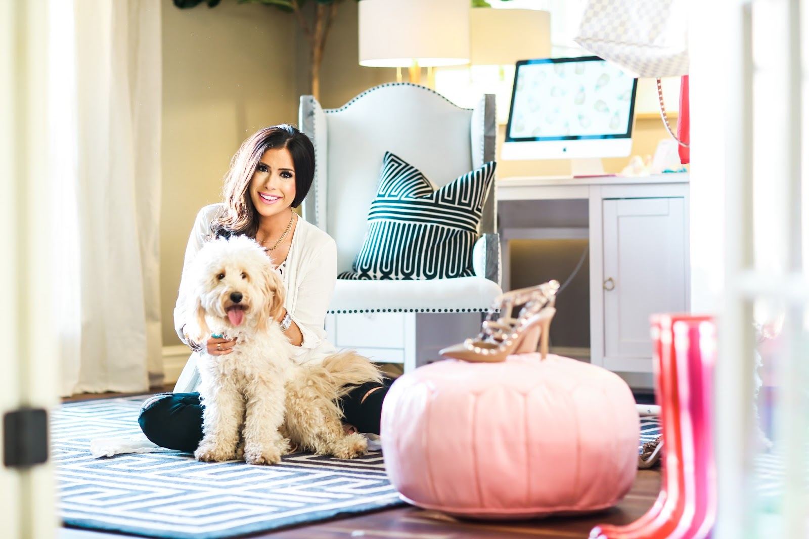 home office tour part 1 download image woman home decorating