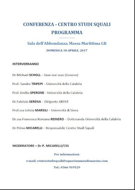 Domenica 30 aprile Programma Conferenza