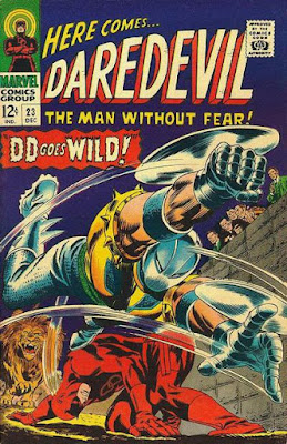 Daredevil #23, the Gladiator
