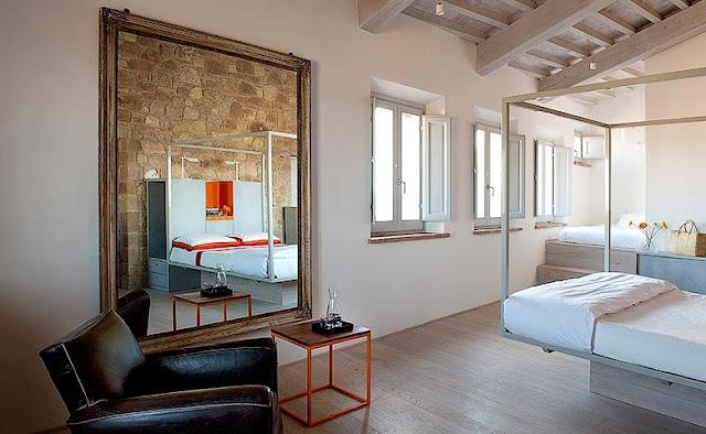 hotel boutique en Pienza chicanddeco