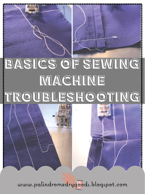 Sewing Machine Troubleshooting - How to Fix Your Sewing Machine