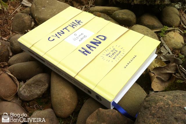 Livro O Último Adeus, Cynthia Hand