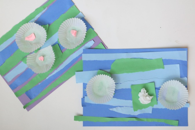 Monet Water Lily Art Project