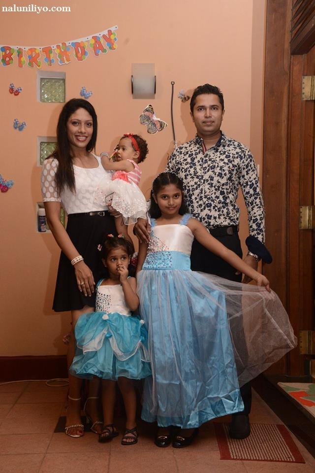 Himali Gunasekera family
