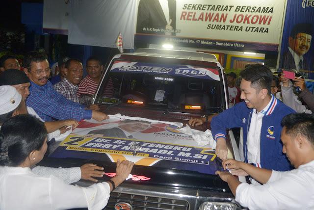 Sekber Relawan Jokowi Taat Aturan, Copot APK Usai Nobar Debat