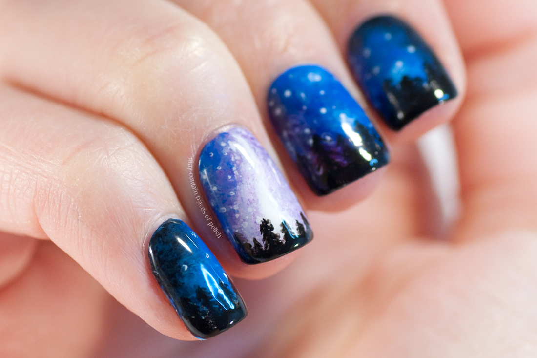 31 Day Challenge 2017: Day 19, Galaxy Nails - May contain traces of ...