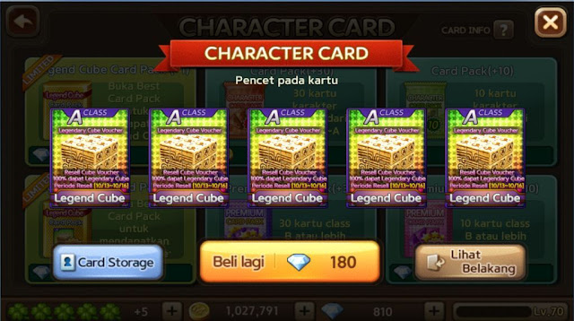 Trik Cara Mendapatkan Legendary Cube JKT 48 LINE Let Get Rich Gratis Terbaru