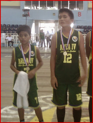 Paolo and Justine, school basketball players