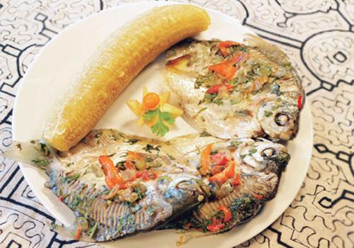 Patarashca de pescado palometa