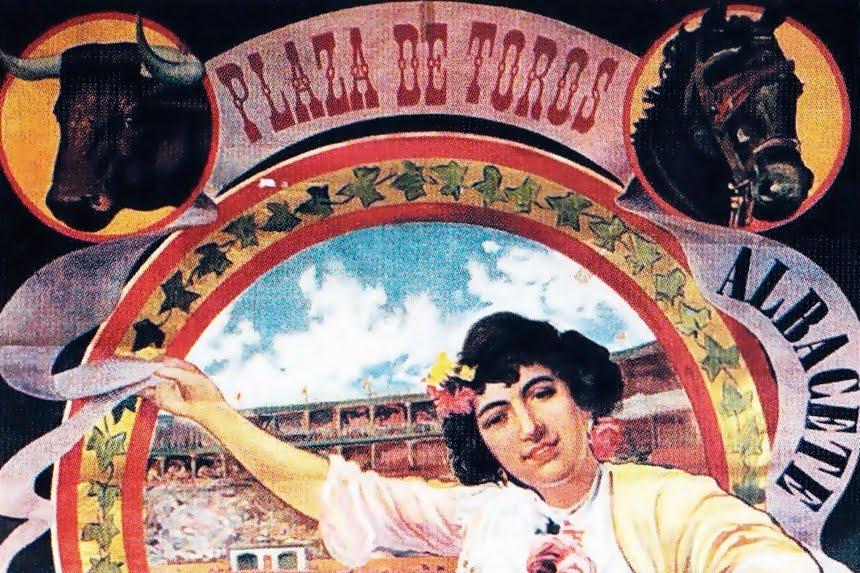 CARTELES CON HISTORIA: AÑO 1904, LA MUJER Y EL TERCIO DE VARAS
