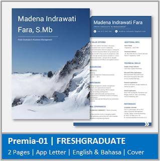 Contoh CV Fresh Graduate Jurusan Manajemen