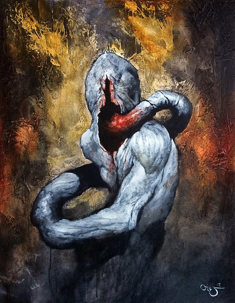 b4f63678b Artospective Dark Art Paintings By Steve Otis From Canada