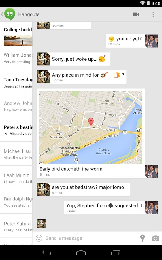 Group Messaging Between Android and iPhone | DiamondLucia