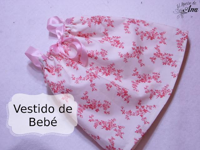 Vestido sencillo de bebé