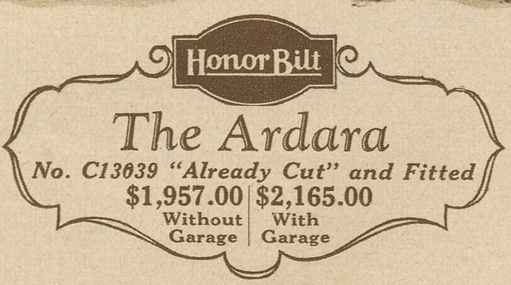 Sears Ardara model