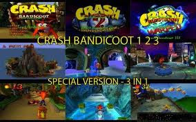 Download Game Crash Bandicoot 1 2 3 PS1