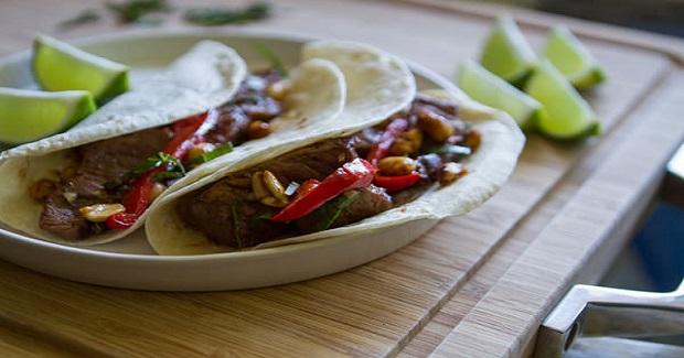 Asian Beef  Tacos Recipe