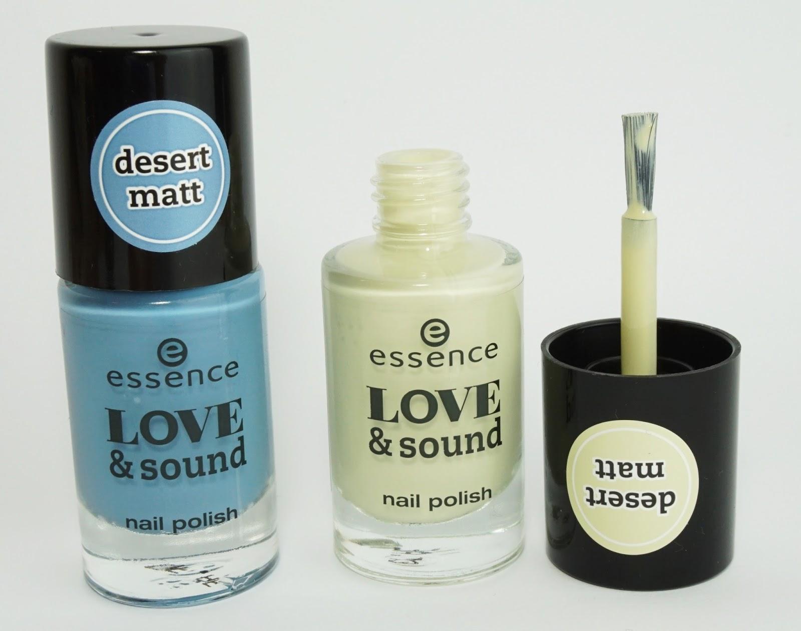 essence - love & sound (Limited Edition April-Mai 2015) nail polish nagellack