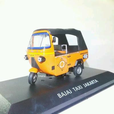 Bajaj Taxi Jakarta