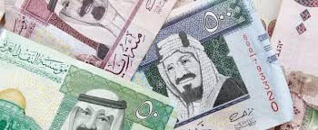 سعر الريال السعودي اليوم الاربعاء 25-1-2017 أرتفاع اسعار الريال في البنك الأهلي الكويتي والسوق السوداء