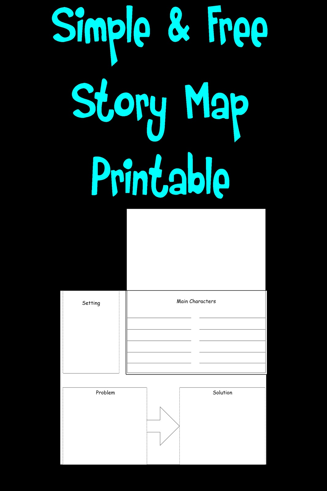 Simple Story Map Printable