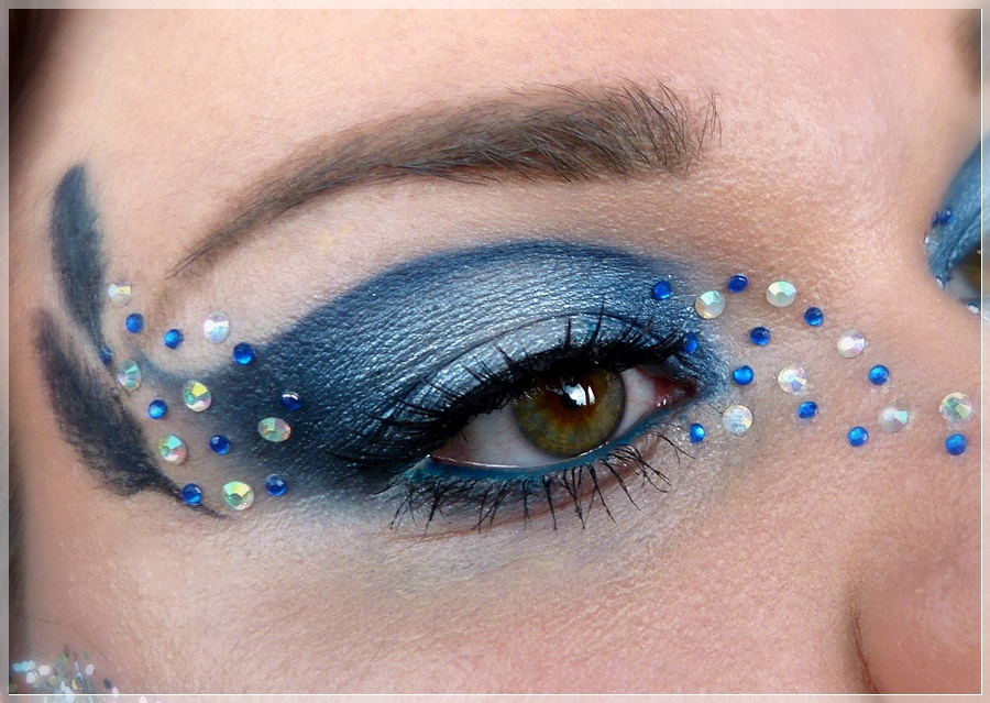 Ravenclaw Augenmake-up