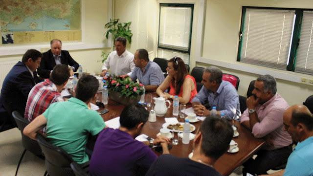 Συνάντηση συνδικαλιστών αστυνομικών με τον Αρχηγό της Ελληνικής Αστυνομίας