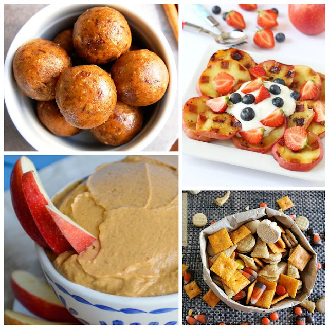 Healthy Fall or Autumn Snacks for Kids