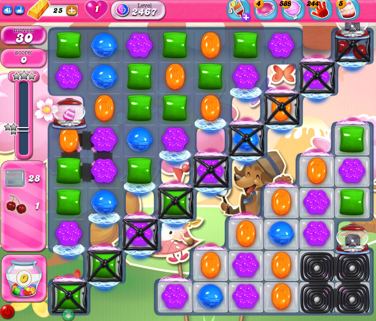 Candy Crush Saga level 2467