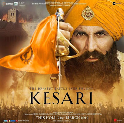 Kesari 2019 Hindi 720p WEB HDRip 1Gb x264