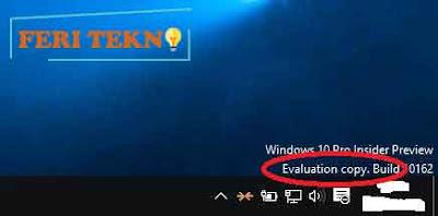 menghilangkan evaluation copy pada windows  Tutorial Menghilangkan Evaluation Copy di Windows 10+