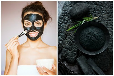маска из активированного угля от черных точек