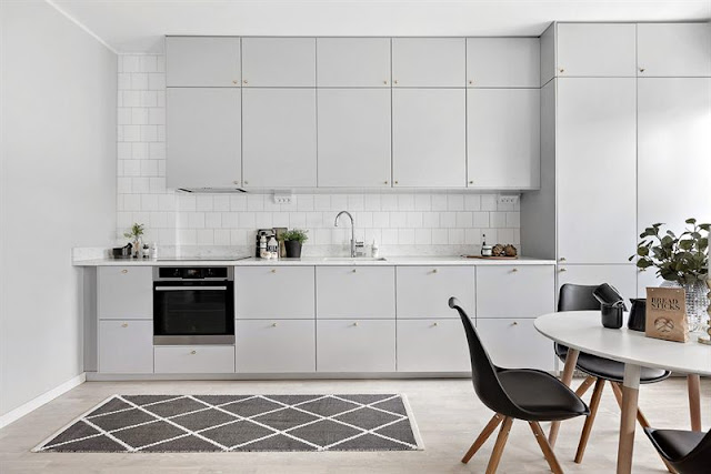 Lovely scandinavian apartment with magical atmosphere