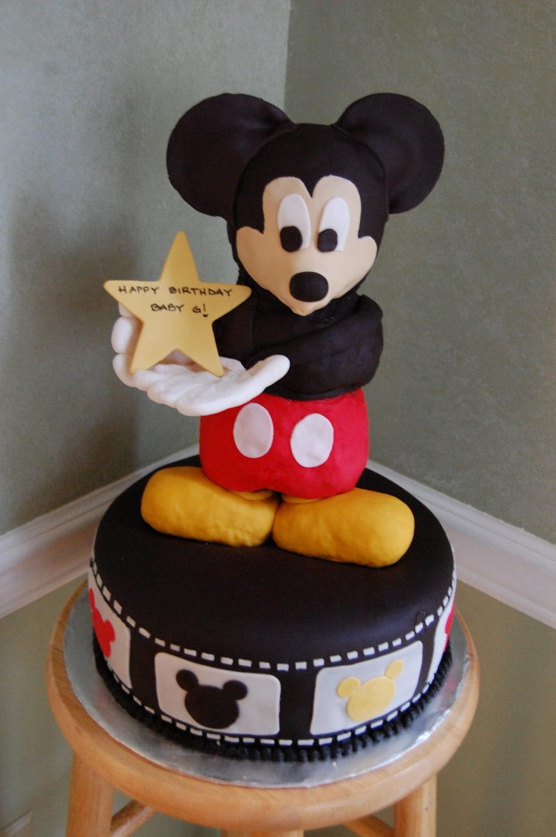 Photoshoot Of Super Mickey Mouse Birthday Cake Clippub