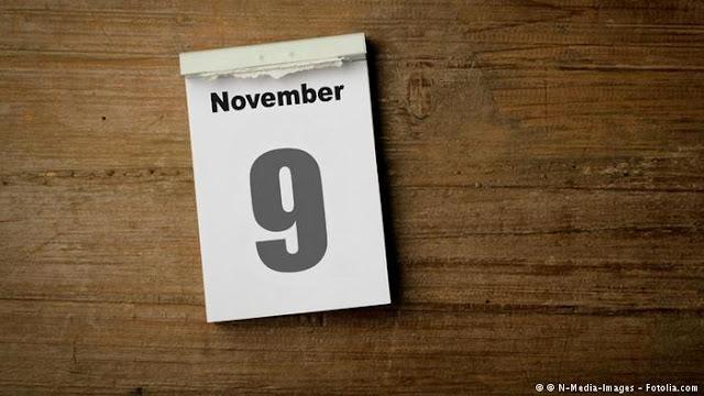 Peristiwa dan Kejadian Penting Tanggal 9 November