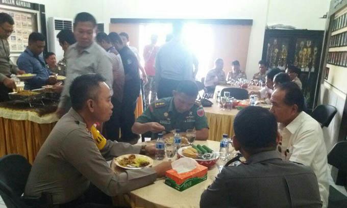 Begini Cara Polri dan TNI di Sinjai Jalin Sinergitas Jelang Pilkada 2018