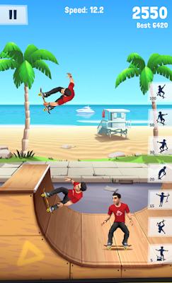 لعبة Flip Skater مهكرة جاهزة للاندرويد, لعبة Flip Skater مهكرة بروابط مباشرة