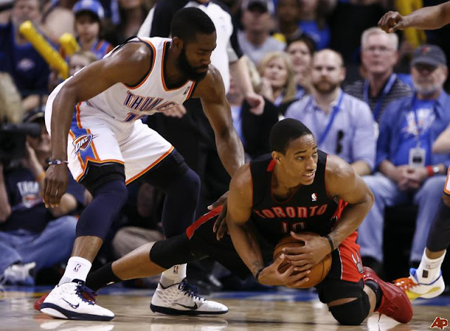DeMar DeRozan dan James Harden