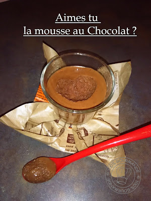 100 gourmande mousse chocolat express au cook 39 in - Mousse au chocolat express ...