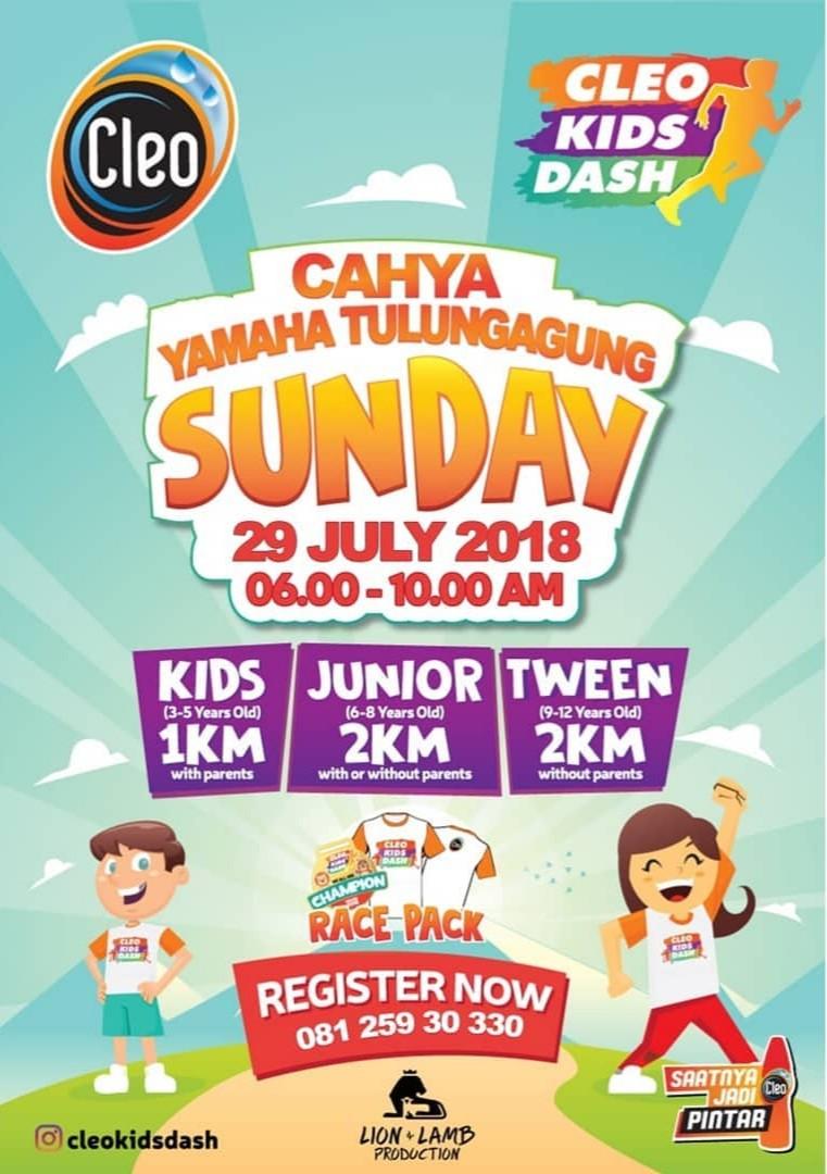 Cleo Kids Dash – Tulungagung • 2018