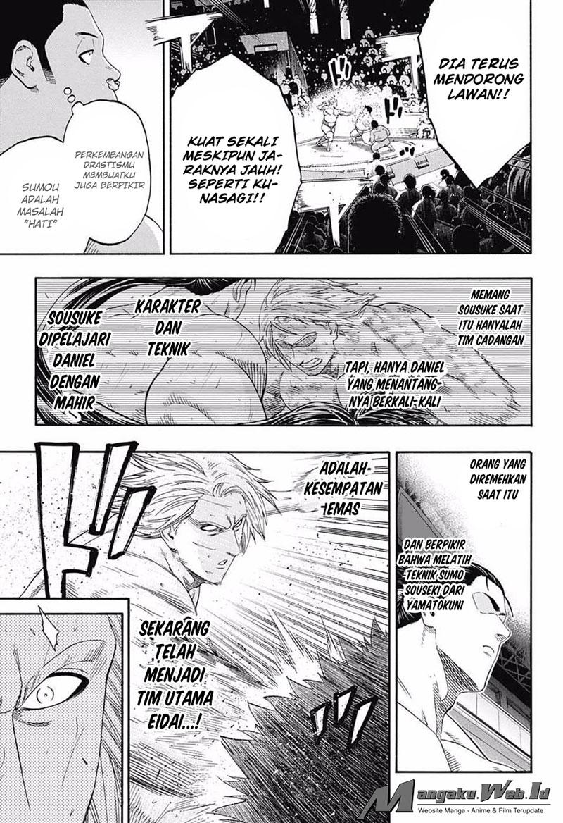 Hinomaru Zumou Chapter 144-9