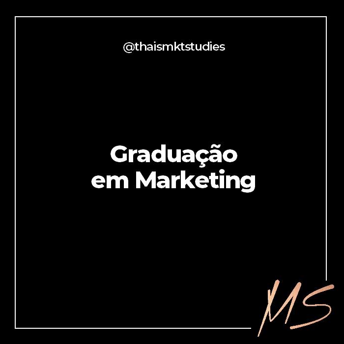 Graduação Tecnológica em Marketing