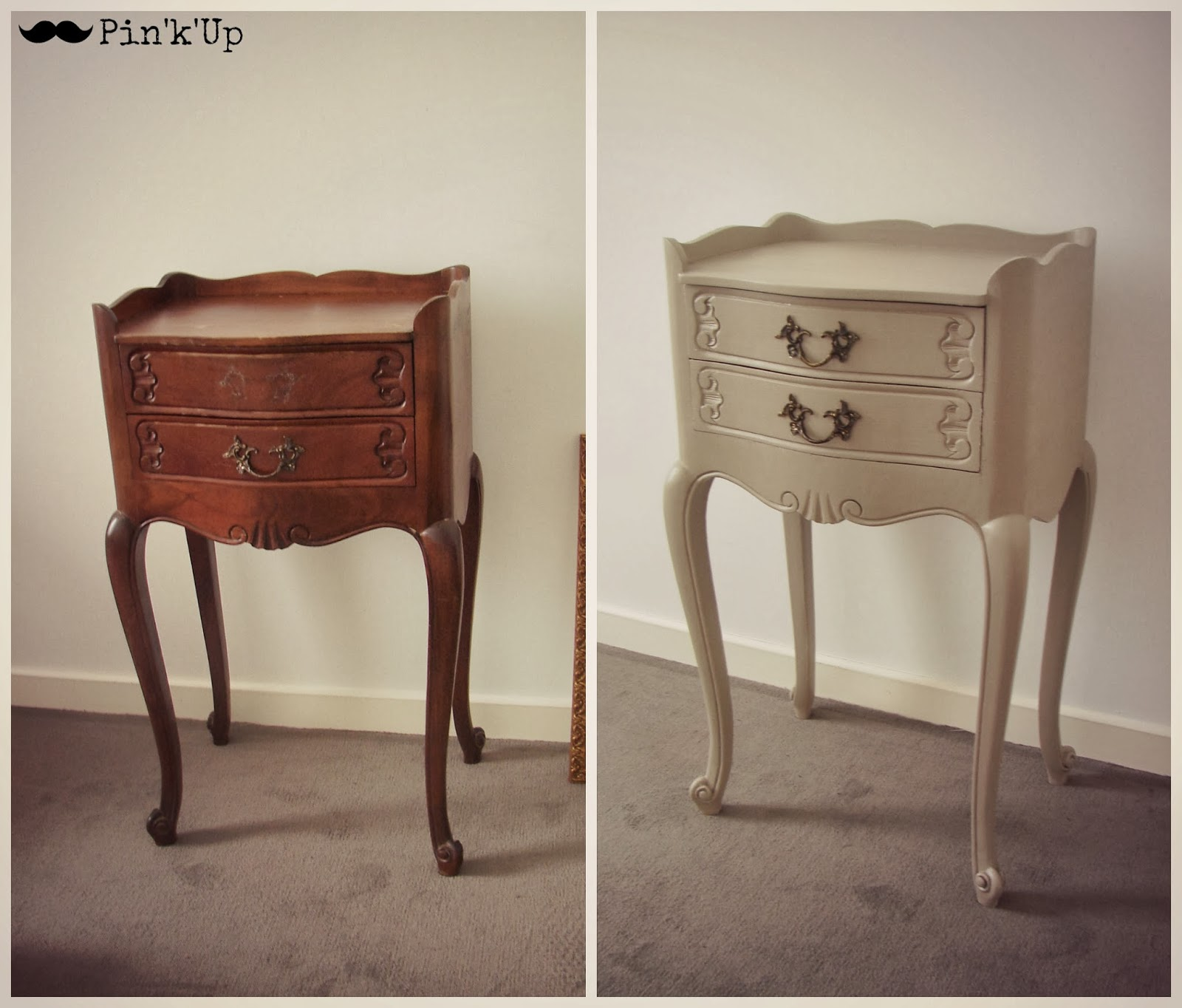 pin 39 k 39 up d co table de chevet. Black Bedroom Furniture Sets. Home Design Ideas