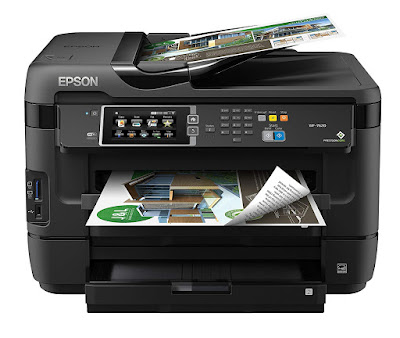 Epson Workforce WF-7610DWF Driver Downloads