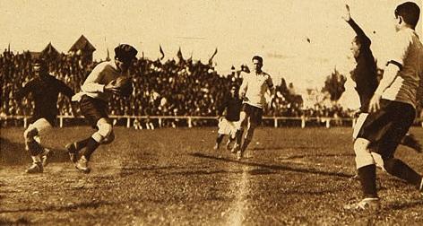 Chile y Argentina en Campeonato Sudamericano de 1926