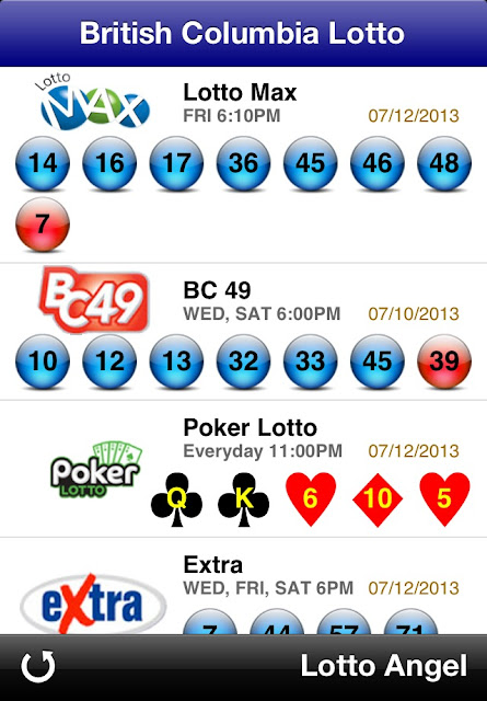 Lotto 649 Numbers Bc 49