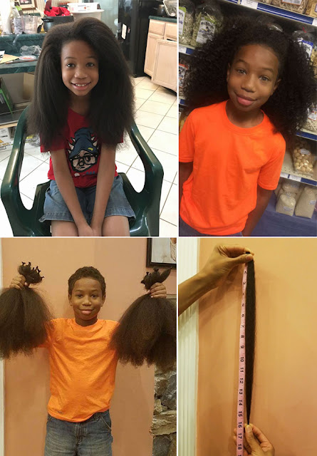 INSPIRING: This 10-Year-Old Boy Grows His Hair Longer Because Of One Reason That Won The Hearts Of The Netizens!